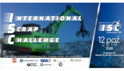 I International Scrap Challenge w Inowrocławiu